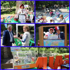 Участники фестиваля «Добрый край Воронежский» презентовали свою деятельность жителям города (Часть 1)