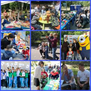 Участники фестиваля «Добрый край Воронежский» презентовали свою деятельность жителям города (Часть 2)