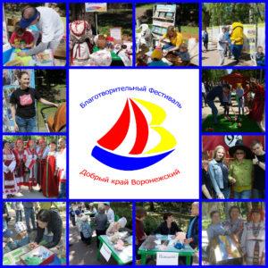 Участники фестиваля «Добрый край Воронежский» презентовали свою деятельность жителям города (Часть 3)
