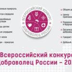 Проводится региональный этап Всероссийского конкурса «Доброволец России – 2018»
