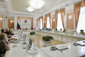 Состоялось заседание координационного совета по делам ветеранов и инвалидов