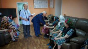 Концерт в БУ ВО «Верхнехавский дом-интернат для престарелых и инвалидов»