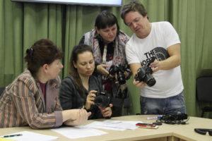 Семинар «Визуальный контент для НКО: основы фотосъёмки»