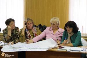 Семинар по социальному проектированию в Петропавловке