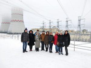 Производственная экскурсия на Нововоронежскую АЭС