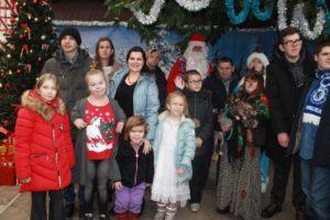 Дети из реабилитационных центров побывали на ёлке в Воронежском зоопарке