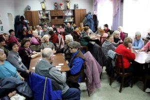 Викторина «Что? Где? Когда?» для пенсионеров и инвалидов Советского района