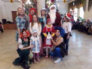 «Волонтёры добра» провели новогодний праздник, для детей в ограниченными возможностями здоровья