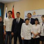 В Воронежской области студентам с инвалидностью Новоусманского техникума вручили подарки
