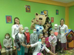 «Доктор Мишка» в гостях у маленьких пациентов ВОДКБ №1