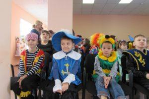 Новогодний утренник для воспитанников Новоусманского интерната
