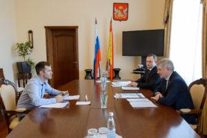 Встреча с Александром Гусевым посвященная созданию Большой Воронежской экологической тропы