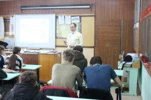 Тренинг по технологии лидерства в Новоусманском многопрофильном техникуме