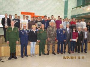 Ветеранские организаций семей погибших военнослужащих и РСВА Семилукского района приняли участие в Дне призывника