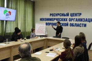 Воронежские общественники прошли тренинг «Сам себе журналист»