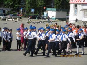 Учащиеся школ Семилукского района приняли участие в патриотической игре