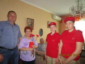 В Семилуках поздравили ветеранов Великой Отечественной войны и тружеников тыла
