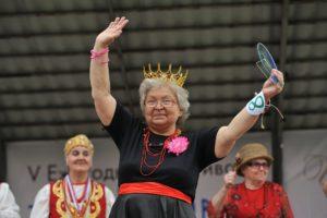 В Воронеже впервые прошел городской конкурс бабушек «Баба Люба»