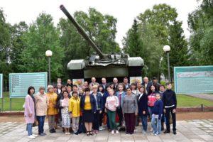 Кантемировцы совершили автопробег в гвардейскую танковую дивизию
