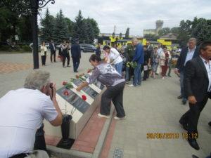 В Семилуках отметили День ветеранов боевых действий