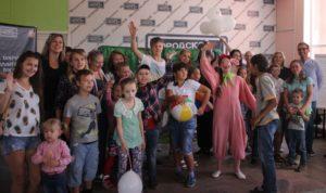 Новый театрализованный урок «Воронежского детского театра» в Липецке