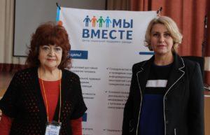 Состоялось еще одна встреча с психологом Ириной Дергачевой, прошел семинар для пожилых людей на тему «Профилактика стресса».