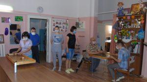 В Семилукском районном обществе инвалидов состоялся турнир по настольным спортивным играм народов мира: джакколо, кульбутто и крокинол
