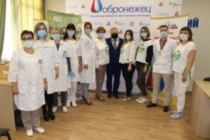 Врачи провели День здоровья для Воронежских общественников