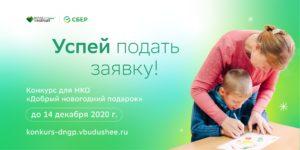 Ежегодный открытый конкурс проектов некоммерческих организаций «ДОБРЫЙ НОВОГОДНИЙ ПОДАРОК»